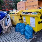 Odpady - Foto od občana města ze dne 8. 7. 2021.